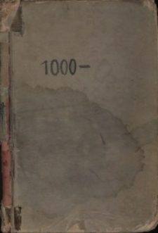 1000 [Księga wzorów Huty Josephine]