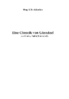 Eine Chronik von Giersdorf [Dokument elektroniczny]