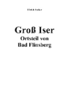Groß Iser Ortsteil von Bad Flinsberg [Dokument elektroniczny]
