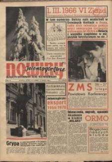 Nowiny Jeleniogórskie : magazyn ilustrowany ziemi jeleniogórskiej, R. 9, 1966, nr 8 (413)