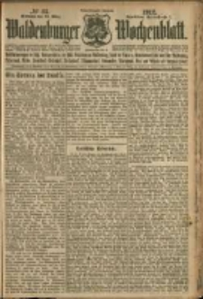 Waldenburger Wochenblatt, Jg. 58, 1912, nr 23