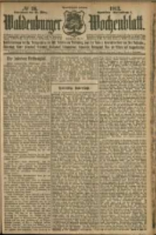 Waldenburger Wochenblatt, Jg. 58, 1912, nr 26