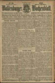 Waldenburger Wochenblatt, Jg. 58, 1912, nr 30