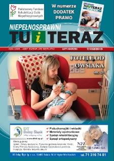 Niepełnosprawni Tu i Teraz, 2019, nr 7 (102)