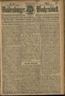Waldenburger Wochenblatt, Jg. 58, 1912, nr 44