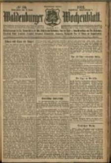 Waldenburger Wochenblatt, Jg. 58, 1912, nr 56