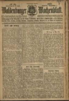 Waldenburger Wochenblatt, Jg. 58, 1912, nr 58