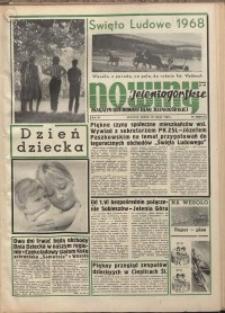Nowiny Jeleniogórskie : magazyn ilustrowany ziemi jeleniogórskiej, R. 11, 1968, nr 22 (531)