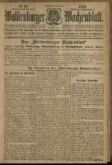 Waldenburger Wochenblatt, Jg. 58, 1912, nr 62