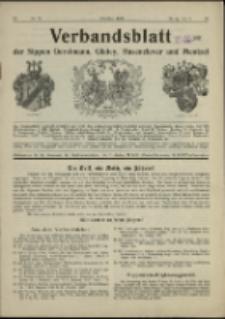 Verbandsblatt der Sippen Gerstmann, Glafey, Hasenclever und Mentzel, Jg. 28, 1938, nr 70
