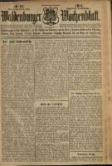 Waldenburger Wochenblatt, Jg. 58, 1912, nr 67