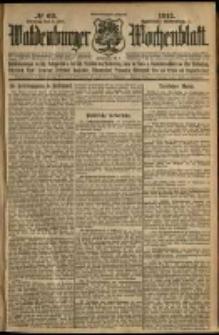 Waldenburger Wochenblatt, Jg. 58, 1912, nr 69
