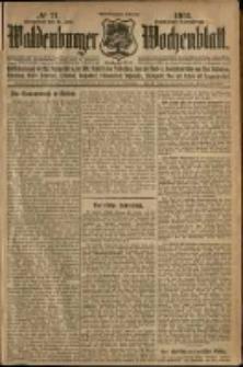 Waldenburger Wochenblatt, Jg. 58, 1912, nr 71