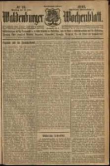 Waldenburger Wochenblatt, Jg. 58, 1912, nr 72