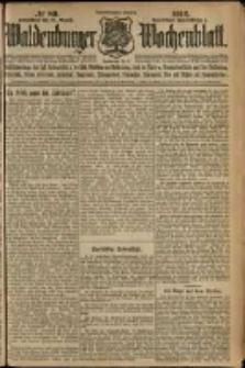 Waldenburger Wochenblatt, Jg. 58, 1912, nr 89