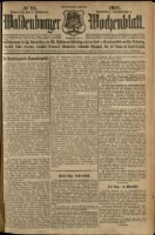 Waldenburger Wochenblatt, Jg. 58, 1912, nr 94
