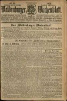 Waldenburger Wochenblatt, Jg. 58, 1912, nr 98