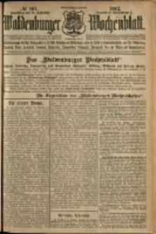 Waldenburger Wochenblatt, Jg. 58, 1912, nr 101