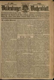 Waldenburger Wochenblatt, Jg. 58, 1912, nr 109