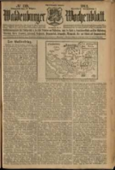 Waldenburger Wochenblatt, Jg. 58, 1912, nr 110
