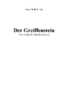 Der Greiffenstein [Dokument elektroniczny]