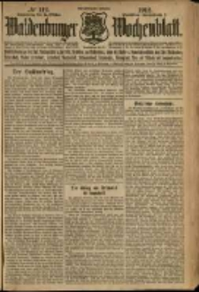Waldenburger Wochenblatt, Jg. 58, 1912, nr 112