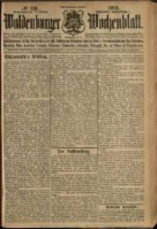 Waldenburger Wochenblatt, Jg. 58, 1912, nr 113