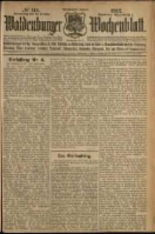 Waldenburger Wochenblatt, Jg. 58, 1912, nr 115