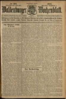 Waldenburger Wochenblatt, Jg. 58, 1912, nr 119