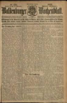 Waldenburger Wochenblatt, Jg. 58, 1912, nr 124