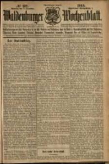Waldenburger Wochenblatt, Jg. 58, 1912, nr 132