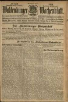 Waldenburger Wochenblatt, Jg. 58, 1912, nr 140