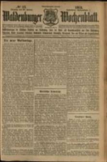 Waldenburger Wochenblatt, Jg. 59, 1913, nr 12