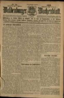 Waldenburger Wochenblatt, Jg. 59, 1913, nr 14