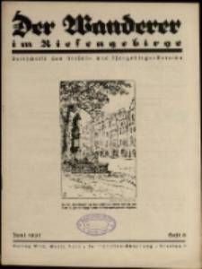Der Wanderer im Riesengebirge, 1937, nr 6