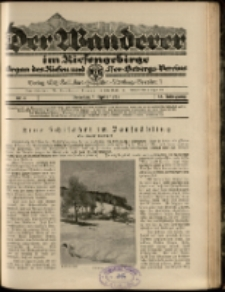 Der Wanderer im Riesengebirge, 1925, nr 4