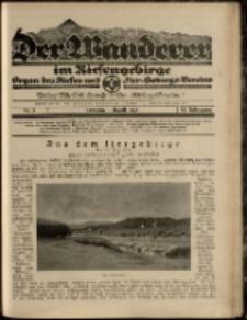 Der Wanderer im Riesengebirge, 1925, nr 8
