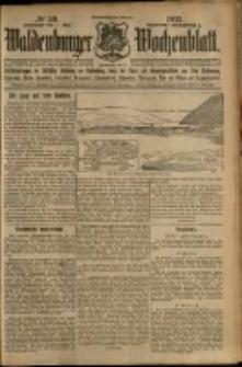 Waldenburger Wochenblatt, Jg. 59, 1913, nr 59