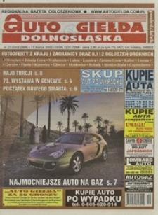 Auto Giełda Dolnośląska : regionalna gazeta ogłoszeniowa, 2003, nr 27 (989) [17.03]