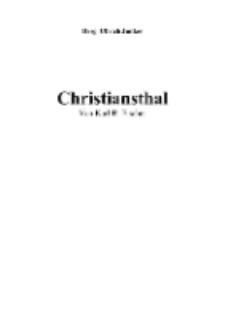 Christiansthal [Dokument elektroniczny]