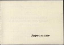 Współczesna grafika zachodnioeuropejska : z kolekcji Jana Hałuszki - zaproszenie [Dokument życia społecznego]