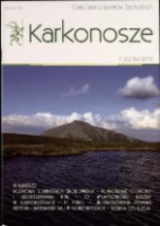 Karkonosze : czasopismo Sudetów Zachodnich, 2014, nr 1/2 (276)