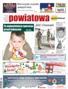 Gazeta Powiatowa - Wiadomości Oławskie, 2016, nr 51