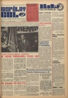 Wspólny cel : gazeta samorządu robotniczego Celwiskozy, 1974, nr 18 (573)
