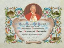 Błogosławieństwo Ojca Świętego [Dokument życia społecznego]