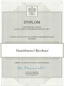 Dyplom stwierdzający nadanie Medalu 100-lecia Odzyskania Niepodległości [Dokument elektroniczny]
