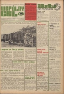 Wspólny cel : gazeta samorządu robotniczego Celwiskozy, 1974, nr 33 (588)