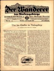 Der Wanderer im Riesengebirge, 1940, nr 7-8
