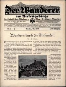 Der Wanderer im Riesengebirge, 1936, nr 5