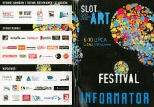 Informator Slot Art Festiwal w Lubiążu 2010 [Dokument życia społecznego]